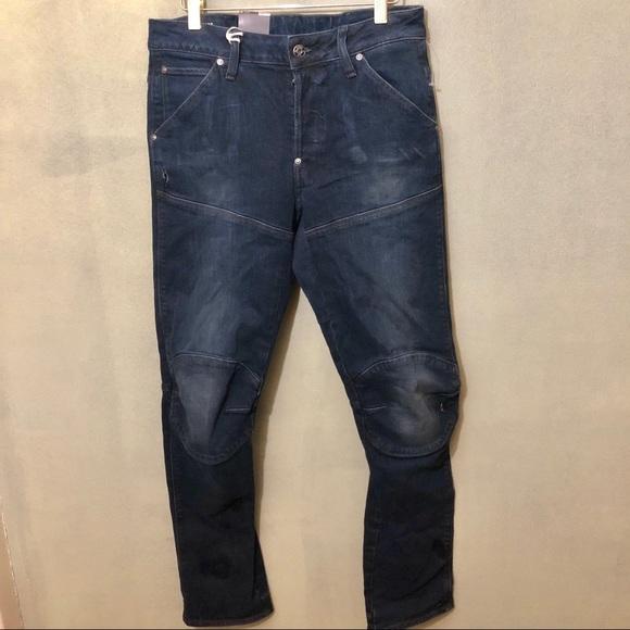 comfortable feel get new big discount 💥Sale!Men's G-Star 5620 Elwood Jeans Dk Aged Bleu NWT
